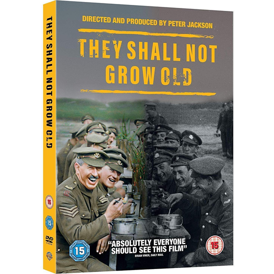 They Shall Not Grow Old DVD (for NZ Buyers)