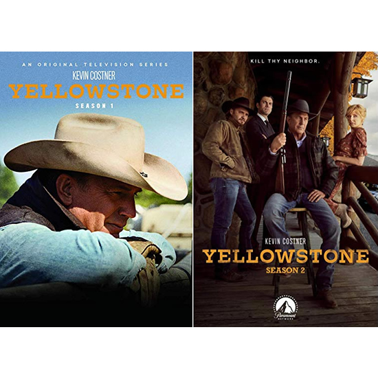 Yellowstone - The Complete Season 1-2 DVD (for NZ Buyers)