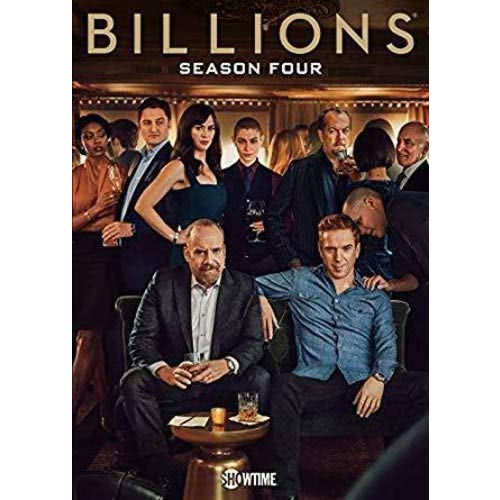 Billions - The Complete Season 4 DVD (for NZ Buyers)