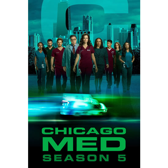 Chicago Med - The Complete Season 5 DVD (for NZ Buyers)