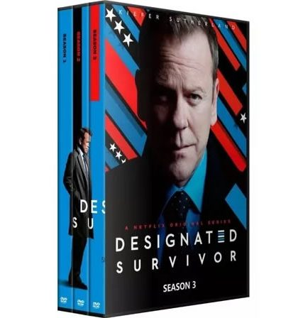 Designated Survivor - The Complete Season 1-3 DVD (for NZ Buyers)