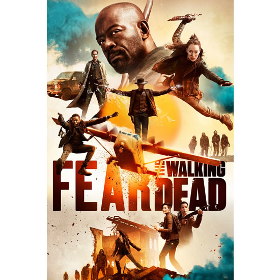 Fear The Walking Dead - The Complete Season 5 DVD (for NZ Buyers)