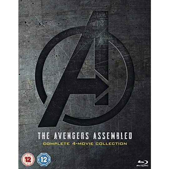 The Avengers Assembled 1-4 Complete 4-Movie Collection DVD (for NZ Buyers)