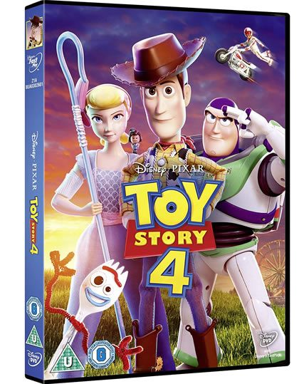 Toy Story 4: Animate DVD (for NZ Buyers)