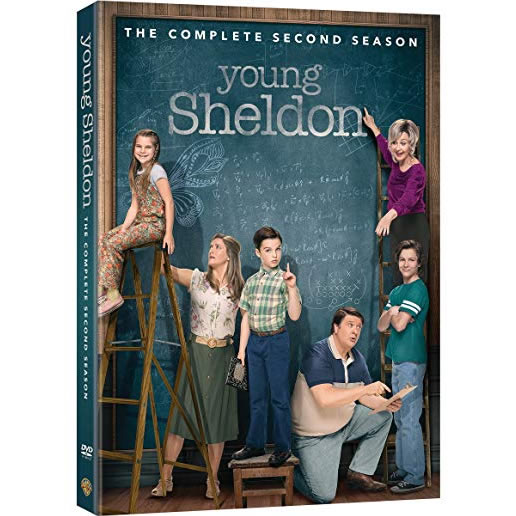 Young Sheldon - The Complete Season 2 DVD (for NZ Buyers)