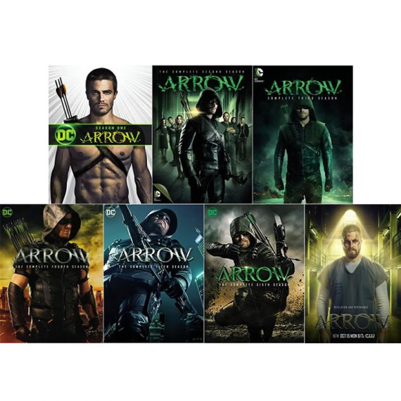 Arrow: The Complete Series 1-7 (for NZ Buyers)
