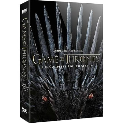 game of thrones season 8 on dvd