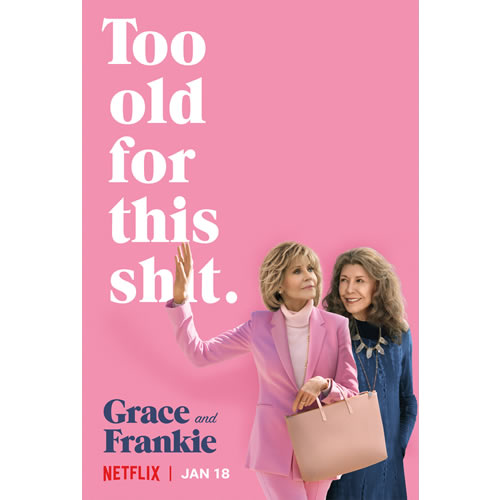 Grace and Frankie - The Complete Season 5 DVD (Pre-order for 2020)