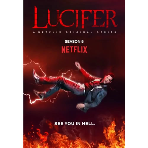 Lucifer - The Complete Season 5 DVD (Pre-order for 2020)