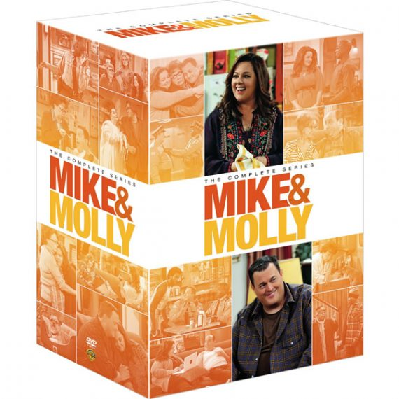 mike and molly complete series 1-6 dvd