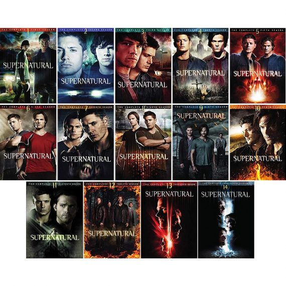 Supernatural: The Complete Series 1-14 (for NZ Buyers)