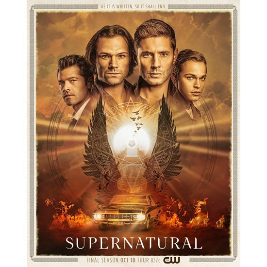 Supernatural - The Complete Season 15 DVD (Pre-order for 2020)
