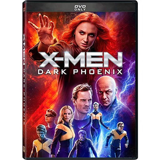 X-Men Dark Phoenix DVD (for NZ Buyers)