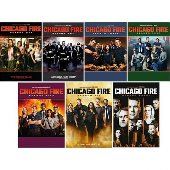 Chicago Fire Complete Series 1-7 DVD ON SALE (40-Disc 2019)
