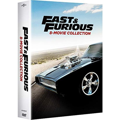 Fast & Furious 8-Movie Collection DVD ON SALE (9-Disc 2019)