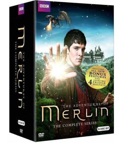 Merlin Complete Series DVD ON SALE (24-Disc 2019)