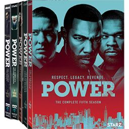 Power Complete Series 1-5 DVD ON SALE (14-Disc 2019)