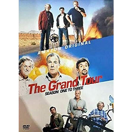 The Grand Tour Complete Series 1-3 DVD ON SALE (12-Disc 2019)
