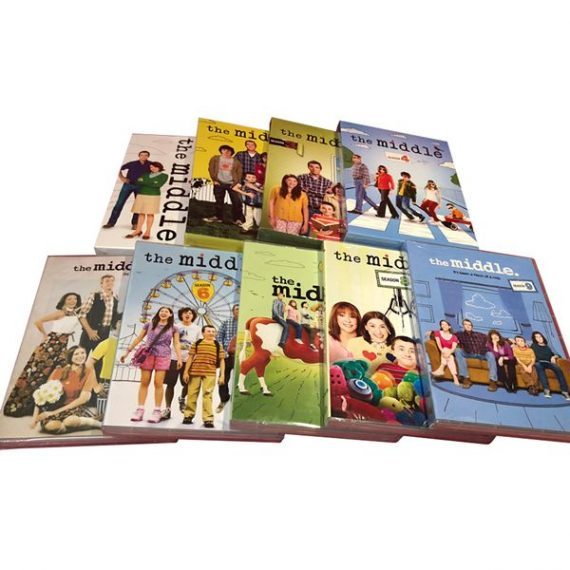 The Middle Complete Series 1-9 DVD ON SALE (27-Disc 2019)