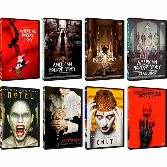 American Horror Story Complete Series 1-8 DVD ON SALE (29-Disc 2020)