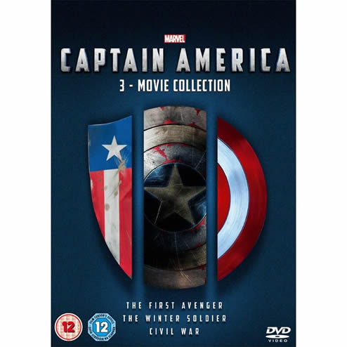 Captain America Complete Series 1-3 DVD ON SALE (3-Disc 2020)