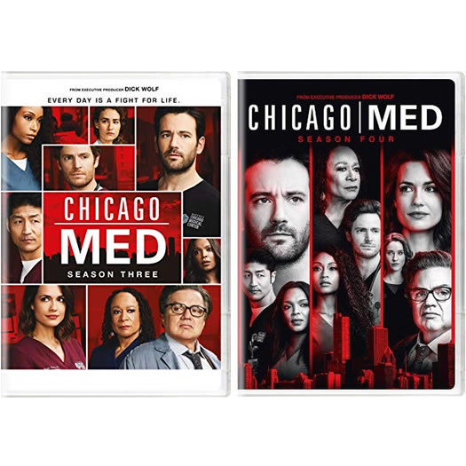 Chicago Med Complete Series 3-4 DVD ON SALE (11-Disc 2020)
