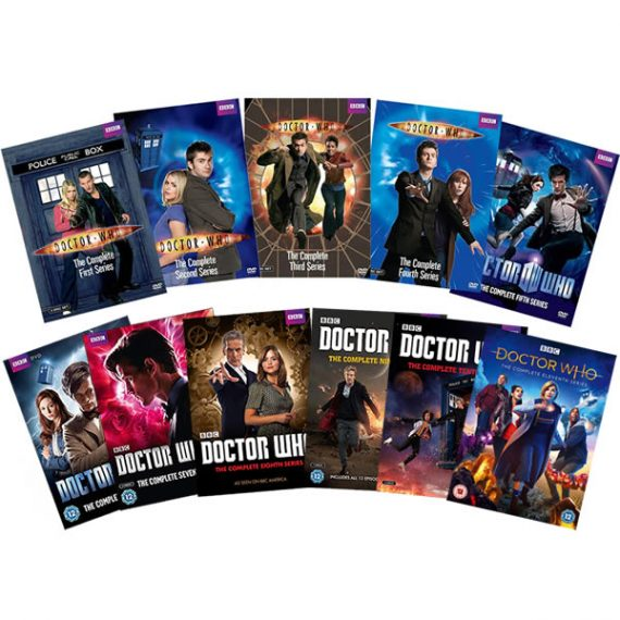 Doctor Who Complete Series 1-11 DVD ON SALE (58-Disc 2020)