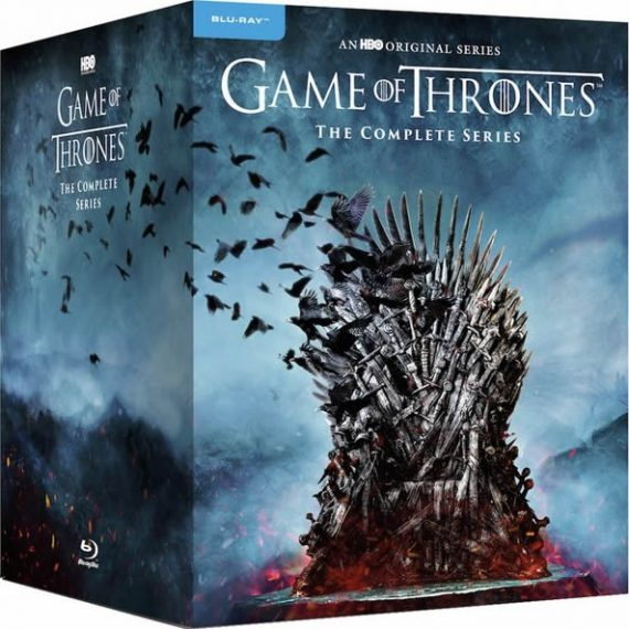 Game of Thrones Complete Series 1-8 Blu-ray Region Free DVD ON SALE (33-Disc 2020)