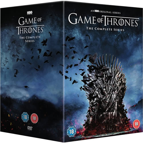 Game of Thrones Complete Series 1-8 DVD ON SALE (38-Disc 2020)
