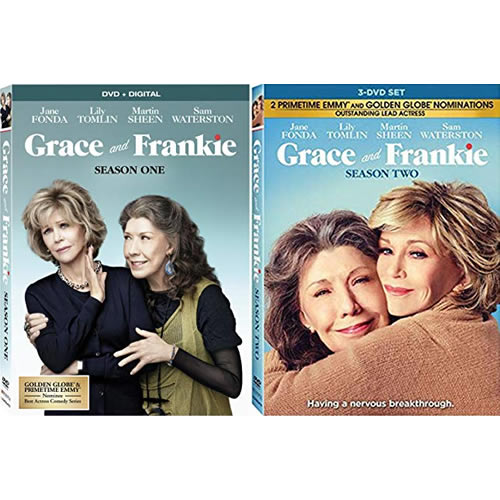 Grace And Frankie Complete Series 1-2 DVD ON SALE (6-Disc 2020)