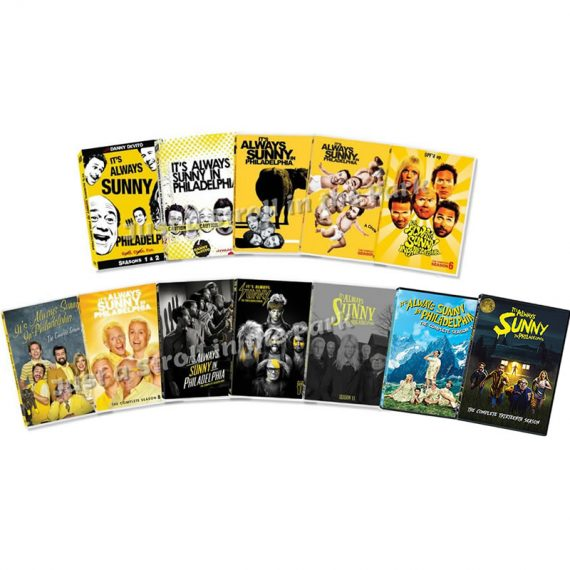 It's Always Sunny in Philadelphia Complete Series 1-13 DVD ON SALE (28-Disc 2020)