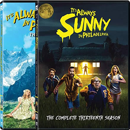 It's Always Sunny in Philadelphia Complete Series 12-13 DVD ON SALE (4-Disc 2020)