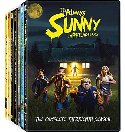 It's Always Sunny in Philadelphia Complete Series 7-13 DVD ON SALE (14-Disc 2020)