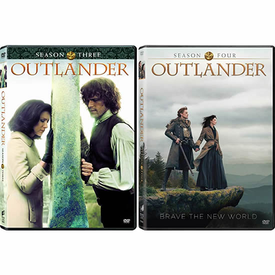 Outlander Complete Series 3-4 DVD ON SALE (7-Disc 2020)