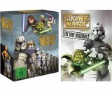 Star Wars: The Clone Wars Complete Series 1-6 DVD ON SALE (21-Disc 2020)