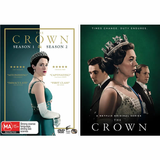 The Crown Complete Series 1-3 DVD ON SALE (12-Disc 2020)