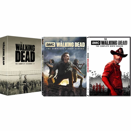 The Walking Dead Complete Series 1-9 DVD ON SALE (41-Disc 2020)