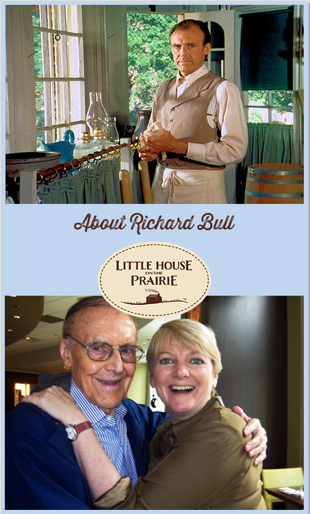 About Richard Bull In Little House On The Prairie