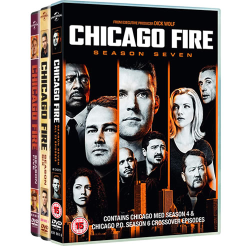Chicago Fire Complete Series 5-7 DVD ON SALE (18-Disc 2020)
