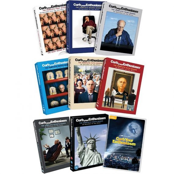 Curb Your Enthusiasm Complete Series 1-9 DVD ON SALE (18-Disc 2020)