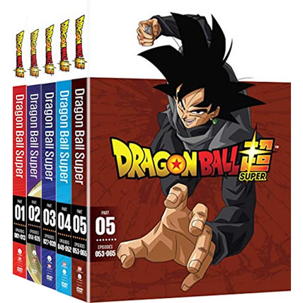 Dragon Ball Super Complete Series 1-5 DVD ON SALE (10-Disc 2020)