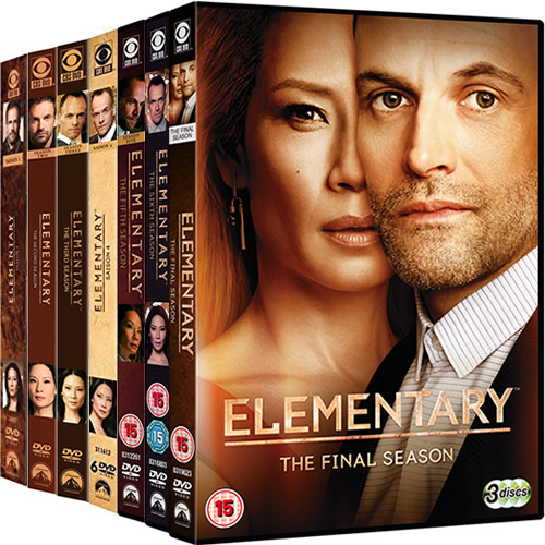 Elementary Complete Series 1-7 DVD ON SALE (39-Disc 2020)