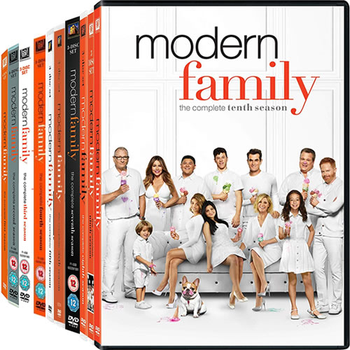 Modern Family Complete Series 1-10 DVD ON SALE (31-Disc 2020)