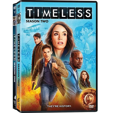 Timeless Complete Series 1-2 DVD ON SALE (7-Disc 2020)