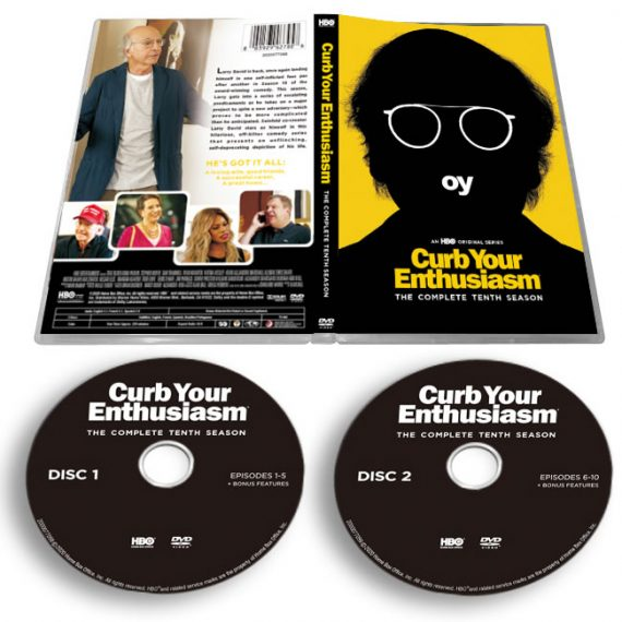 Curb Your Enthusiasm Season 10 DVD ON SALE (2-Disc 2020)