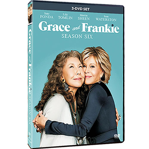 Grace and Frankie Season 6 DVD ON SALE (3-Disc 2020)