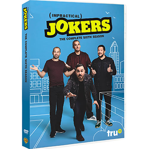 Impractical Jokers Season 6 DVD ON SALE (4-Disc 2020)