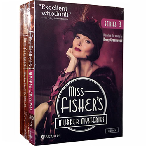 Miss Fisher's Murder Mysteries Complete Series 1-3 DVD ON SALE (11-Disc 2020)