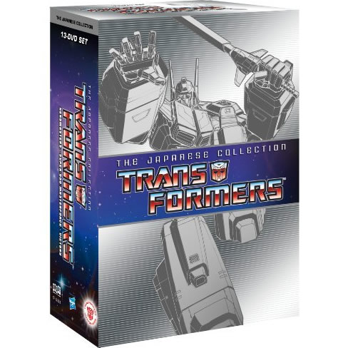 Transformers: the Japanese Collection DVD ON SALE