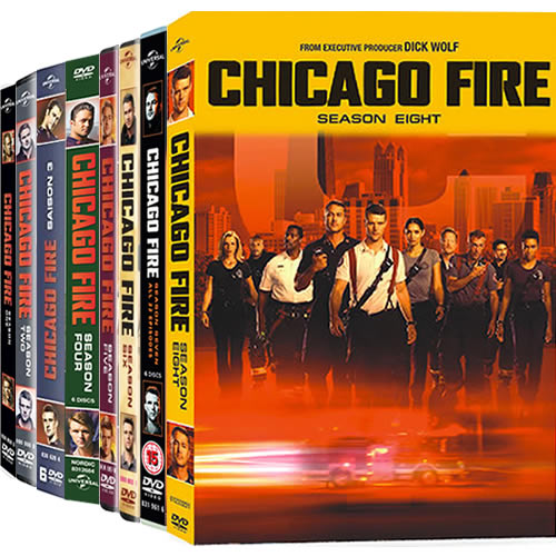 Chicago Fire Complete Series 1-8 DVD ON SALE (45-Disc 2020)